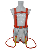 CE Standard low price 5 Adjustable Points EN361 Fall Protection Lightweight full Body Safety Harness