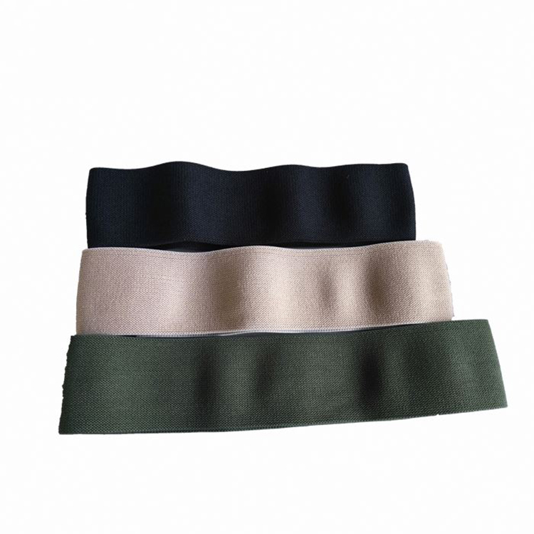 Custom Made Comfortable Fabric Elastic Force Soft Hip Band
