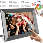 Frameo APP Super Slim 1024*600 IPS 8 Inch wifi digital photo frame manufacturers 100% new Panel without any dot