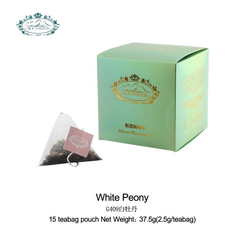 tea organic private label mild peony aroma pale green or golden color brew fruity flavour chinese tea - 4uTea | 4uTea.com
