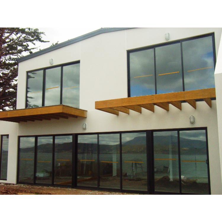 2019 Tempered Double Glass Powder coating AS2047 Standard Aluminum Sliding Window