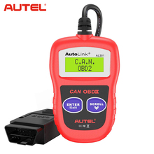 Autel AutoLink AL301 OBDII <span class=keywords><strong>OBD2</strong></span> 코드 스캐너 스캐너 자동 결함 진단 검사 도구