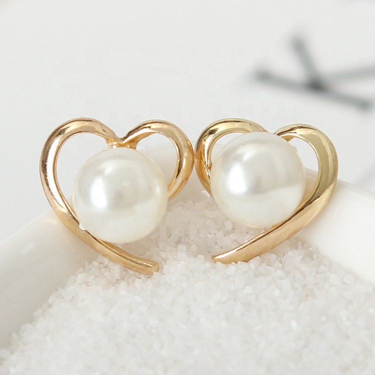 Fashion Jewelry Women &amp; Girls Lovely <strong>Pearl</strong> <strong>Stud</strong> <strong>Earring</strong>