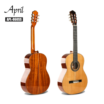 Professional guitar manufacturer High Grade Full Solid Best Spanish Concert Classical guitar