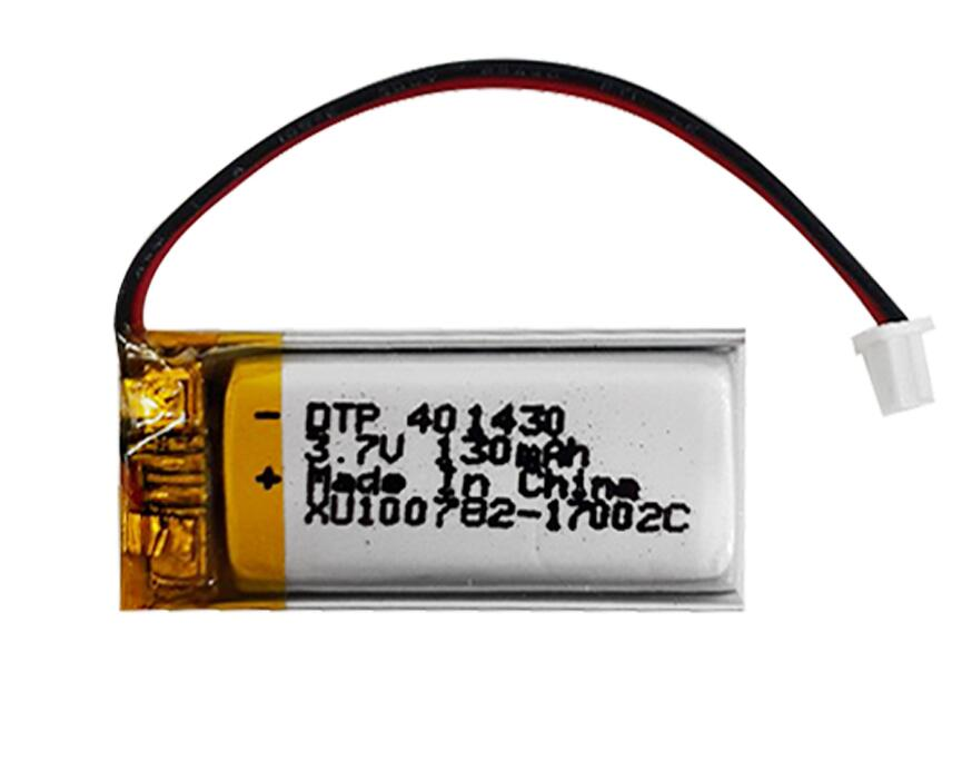 dtp401430 3.7v 120mah130mAh small lithium polymer <strong>battery</strong> for mini fan