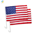 Yinbangke US American Patriotic Car Window Clip on USA Flag