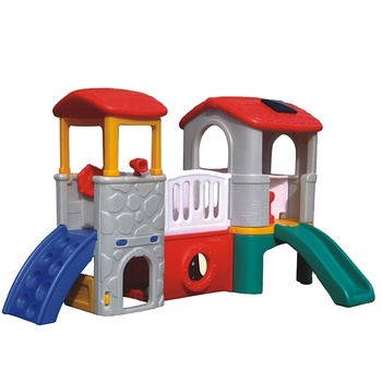 High Quality HDPE Indoor Slide Children Play House for Kids,Durable Customized Plastic Kids Play House