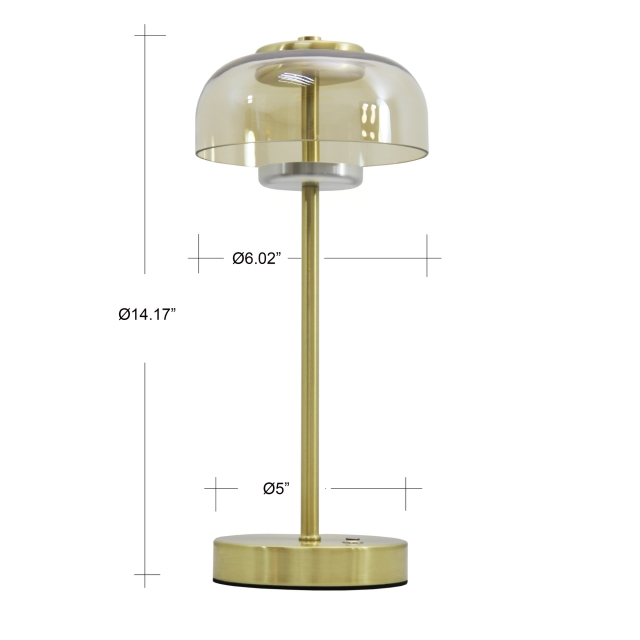 Nordic custom office task glass shade led desk lamp light