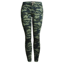Neue frauen Sublimation Modische Camouflage Legging Hosen Slim Fit <span class=keywords><strong>Jeans</strong></span>