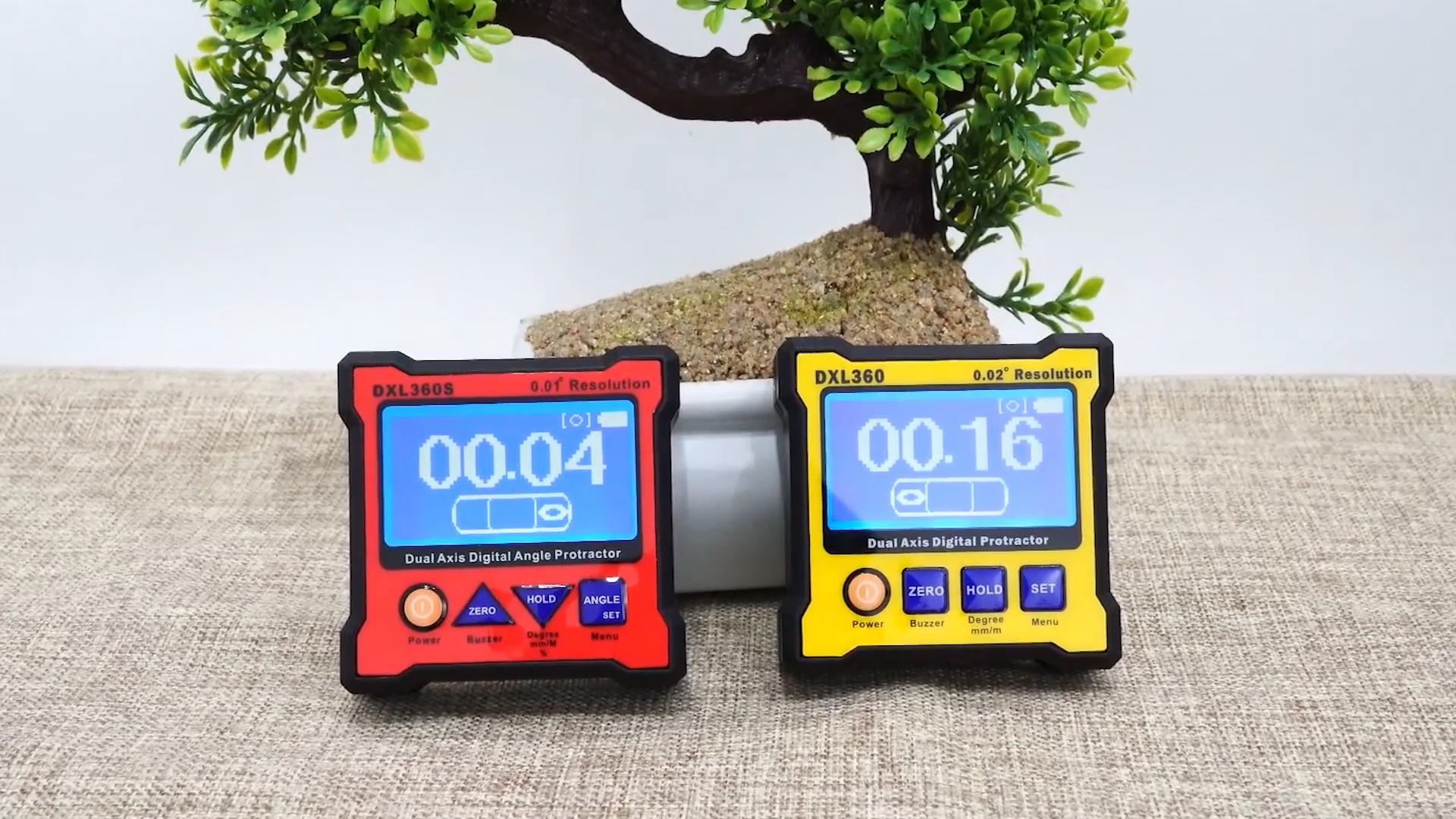Çift eksenli açı sensörü ölçer DXL360 dijital İletki İnklinometre seviye kutusu