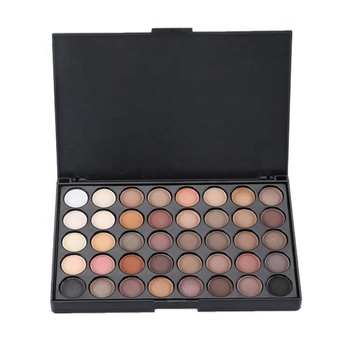 Free Shipping To USA 40 Colors Matte Shimmer Eyeshadow Makeup Palette