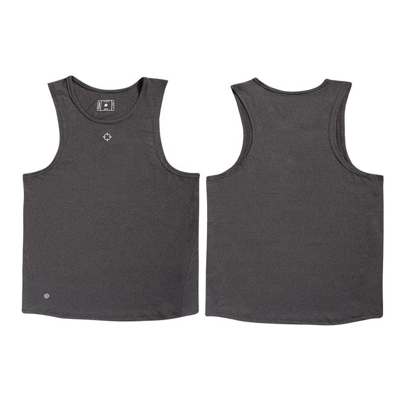 black tank top men gym sports mens vests