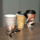 Hot Drink Single Wall For Coffee Paper Cups