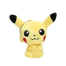 Плюшевые игрушки Takara Tomy, подлинные плюшевые игрушки Pokemon Pikachu Evee, snorlax, Charmander, Bulbasaur, мягкие игрушки для детей в подарок(Китай)