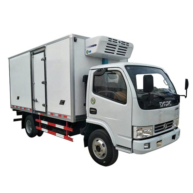 4-6 ton 140HP Refrigerator Van Lorry Truck Freezer Refrigerated Box Vehicle Cooling Van Truck for Meat