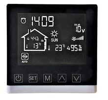 <span class=keywords><strong>LCD</strong></span> thermostat pour chauffage solaire de l'air