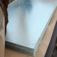 ASTM A36 Hot Dipped Galvanized Zinc Coated Chequered Plate
