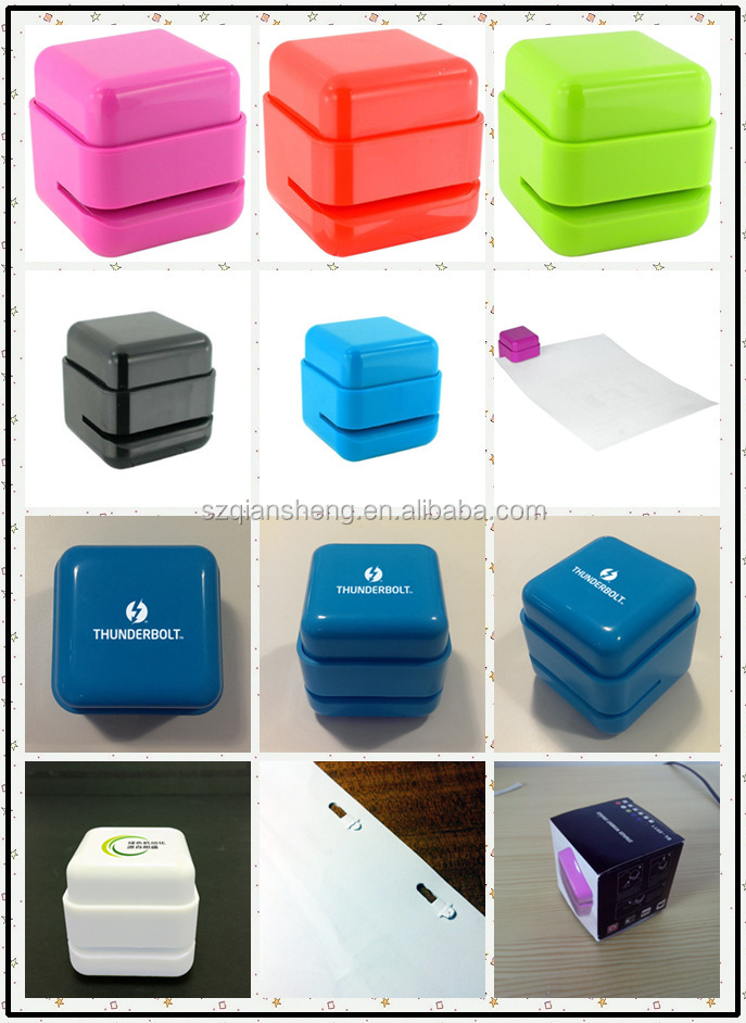 Colorful Stapler without Staple for Office mini stapler