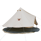 100% cotton canvas 3 persons camping outdoor tent