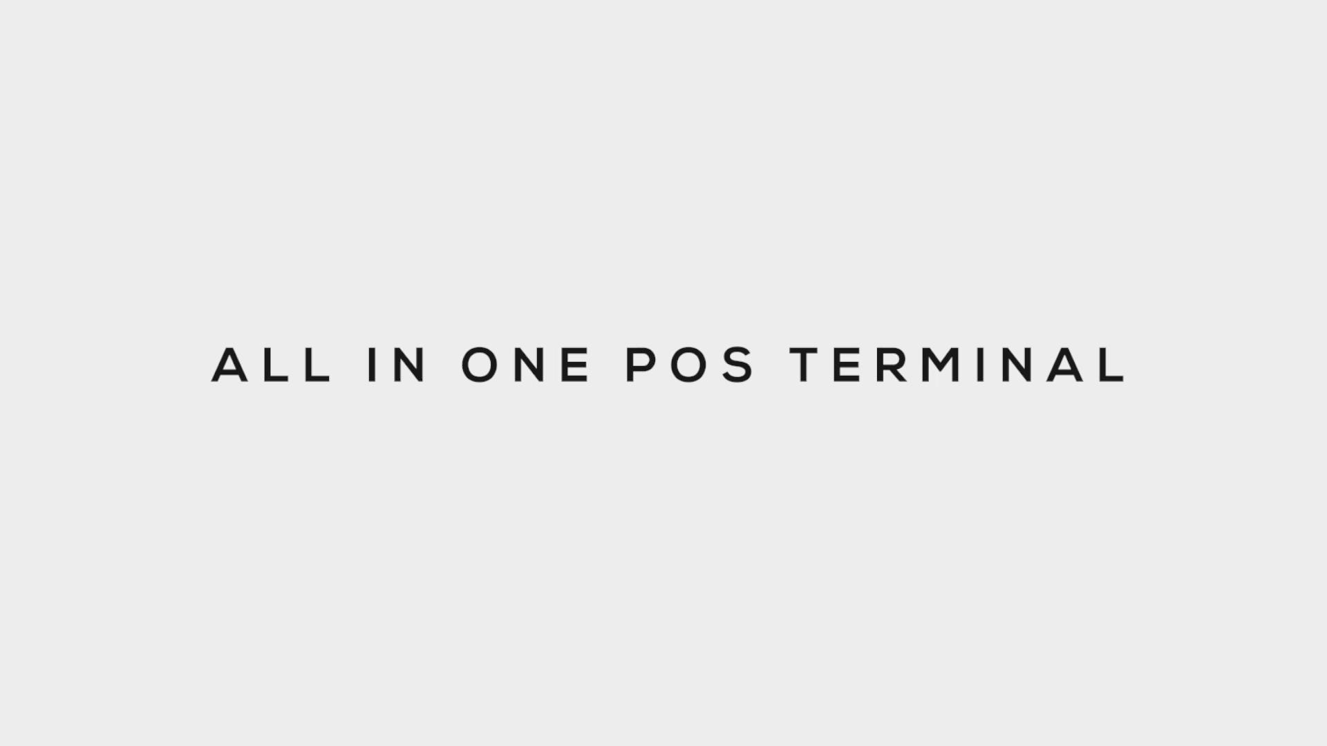 """15 """"все в одном POS система емкостный сенсорный экран Windows настольное устройство кассовый терминал машина POS терминал ZQ-P1088Max"""