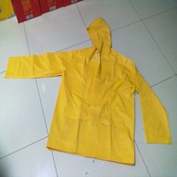 Hot selling waterproof PVC rain jacket /raincoats