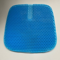 High Quality Coccyx Orthopedic Cooling egg Sit Gel Seat Chair Cushion Memory Gel Pad Cushion for Summer Hip Cool Feeling