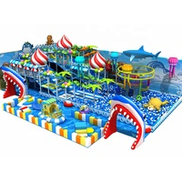 Kids Play Centre Ocean Theme Commercial Indoor Playground Equipment For Sale