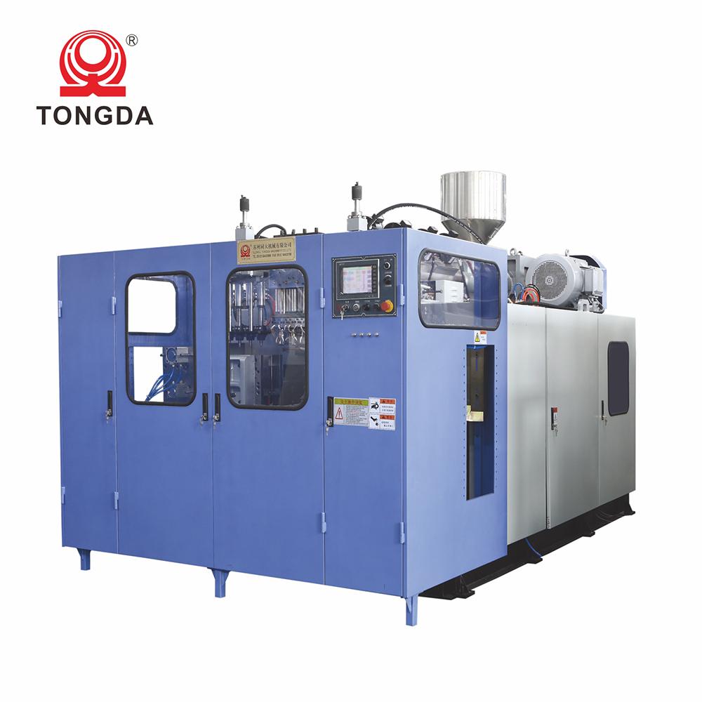 TONGDA HT5L для надувания бутылок формовочный станок для изготовления пластиковых воды бутылка выдувного формования воздуходувки