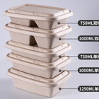 2020 Wholesale custom disposable biodegradable food packaging container