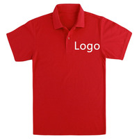 Wholesale 100% Cotton Custom Logo Short Sleeve Work Wear Coffee Shop Uniform Waiter Uniform Polo Shirt