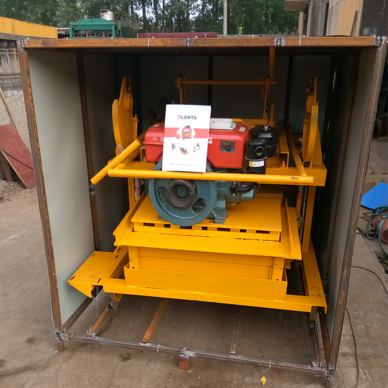 Made In Germany Qm 4-45 Concrete Block Making Machine For