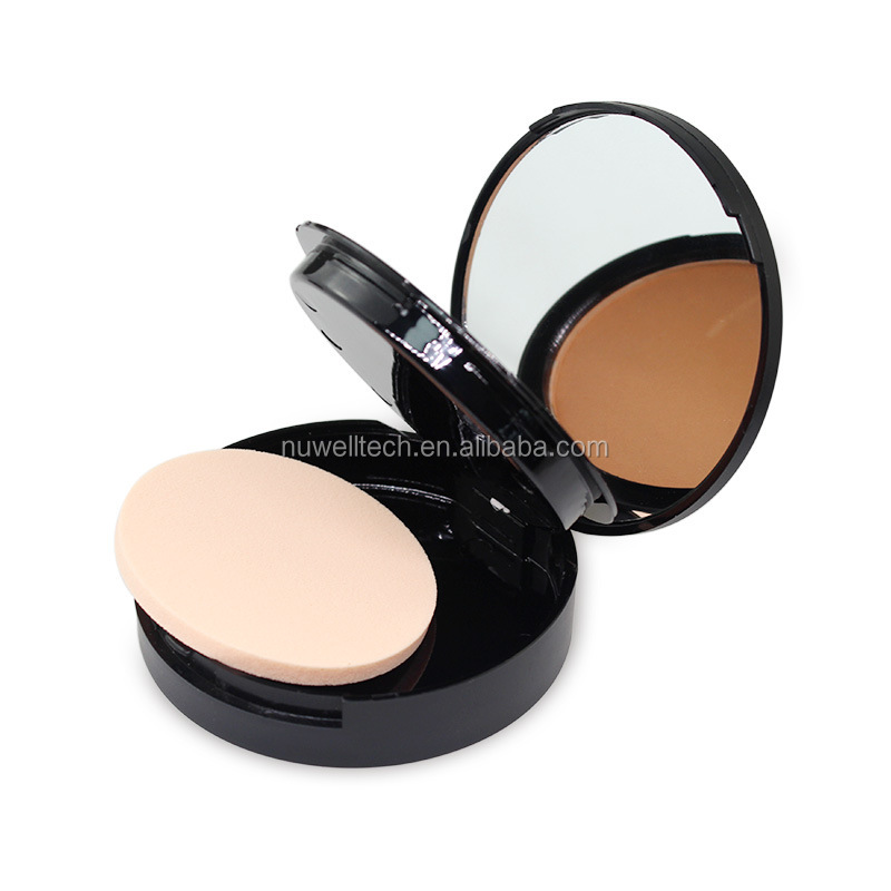 Oil Control Mineral Powder Foundation Custom Cosmetic Make Up Pressed Powder