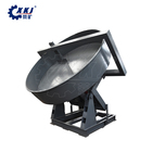 Granulator machine for sludge fly ash clay slag powder Disc ball