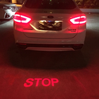 A variety of car LED projection lights motorcycle taillight decorative lights outdoor general safety warning lights