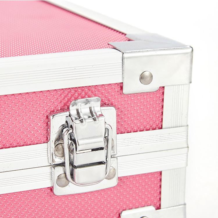 Kotak Paduan Aluminium Dua Lapis, Set Hadiah Seni Warna Sekolah Air untuk Anak-anak