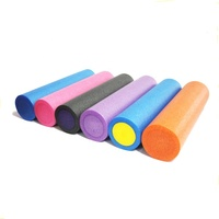 EPE yoga foam roller for exercise training physical therapy muscle massge