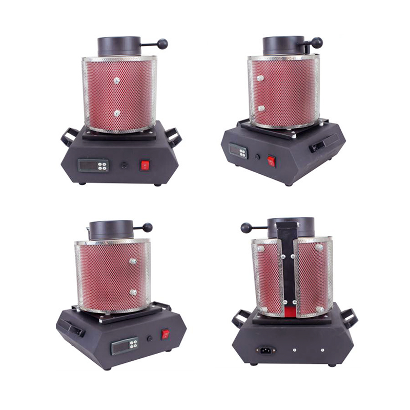 Mini Smelting Furnace Electric Gold Melting Furnace
