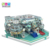 New Arrival Safety Aircraft Theme Plastic Kids Playground Indoor Equipment On Sale