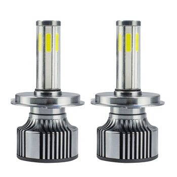 Wholesale high Intensity Quality 48W 5600lm COB chip 6sides LED Car Headlight 6500k