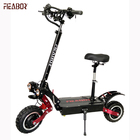 Electric Scooter 5600w Adult China Power Battery Time Charging with movable seats