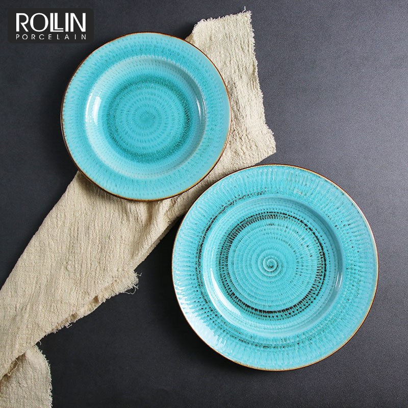 Guangzhou New Product Porcelain Tableware Ceramic Dinner set for Hotel and Restaurant