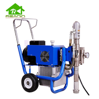 Reanin-R2 Long piston pump Airless Putty Spray Machine With Paint Spray Gun