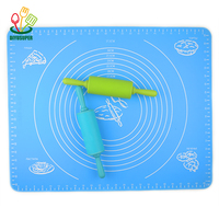 Silicone Baking Mat Fondant Bakeware Oven Baking Tools For Cakes Pastry Tools Sheet Dough Roll Mats Pad