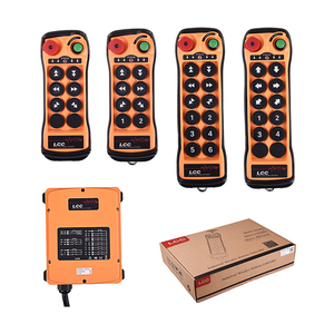Q808 8 buttons wireless radio transmitter and receiver industrial crane remote radio control