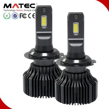 Customized chip available led vehicle headlight led lighting replacement bulb H4 H7 H11 H13 9005 9006 5202 D2S 6000K h4 led bulb