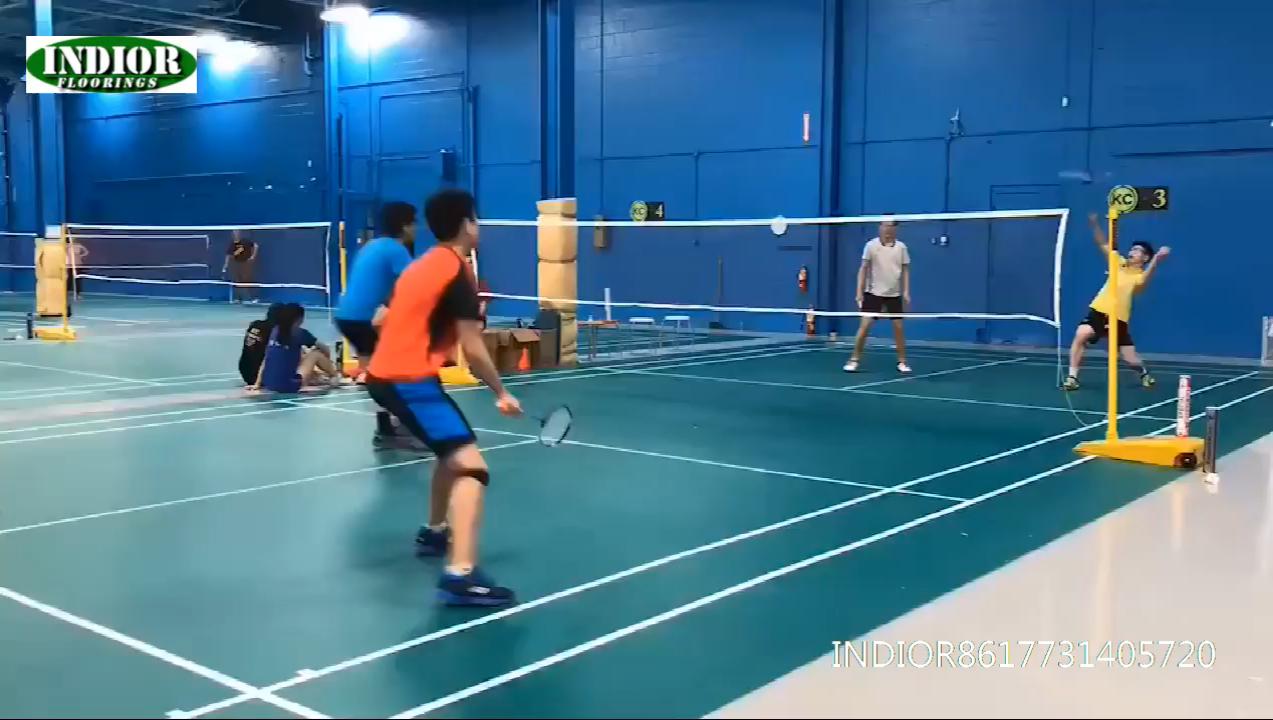 2020 Hot Koop Waterdichte Hoge Rebound Badminton Mat Pvc Sport Plint Plastic Vloeren India