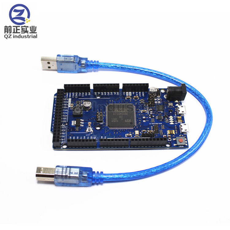 QZ industrial new high quality AT91SAM3X8E <strong>ARM</strong> 32 Bit DUE 2012 R3 Master module Development Main Control Board with Data Cable
