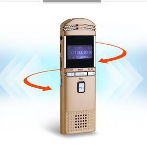 Long Distance 8GB Digital Voice Recorder Professional Dictaphone Recorder with  battery
