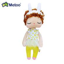 34 см кукла Metoo Мягкие игрушки Плюшевые животные детские игрушки для девочек Дети Мальчики Детские Плюшевые игрушки мультфильм Анжела кроли...(Китай)