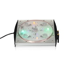 ctlite 150w simulate sunrise/sunset/lunar cycle led aquarium light coral reef